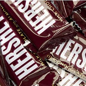 Hershey's Milk Chocolate With  is listed (or ranked) 14 on the list The Best Hershey Bar Flavors