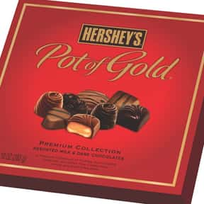 Hershey's Pot of Gold is listed (or ranked) 24 on the list The Best Hershey Bar Flavors