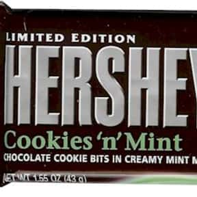 Hershey's Cookies and Mint is listed (or ranked) 15 on the list The Best Hershey Bar Flavors