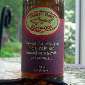 Dogfish Head Sixty-One is listed (or ranked) 25 on the list The Best Dogfish Head Beers
