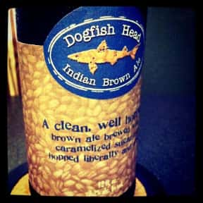 Dogfish Head Indian Brown Ale is listed (or ranked) 8 on the list The Best Dogfish Head Beers