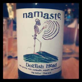 Dogfish Head Namaste is listed (or ranked) 7 on the list The Best Dogfish Head Beers