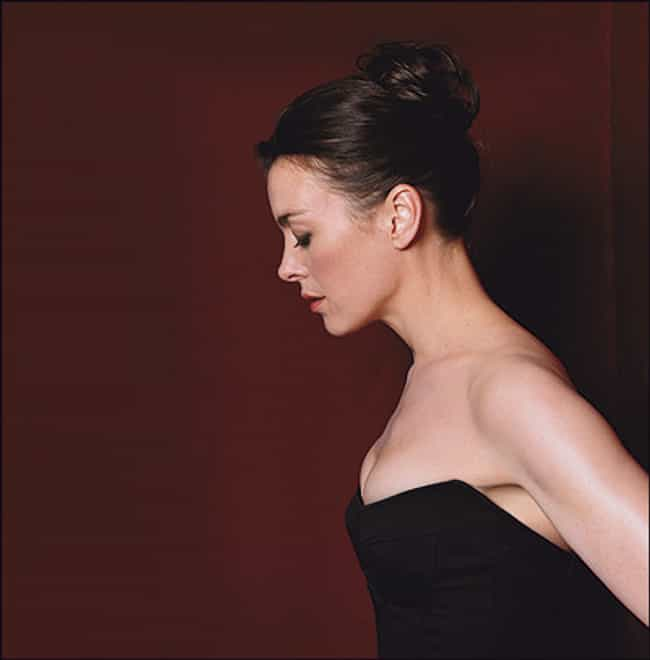 Olivia Williams in a Black Str... is listed (or ranked) 4 on the list The Hottest Olivia Williams Photos