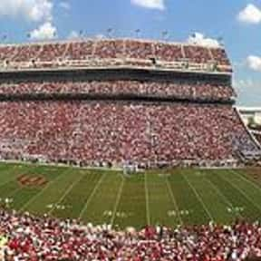 OU Memorial Stadium is listed (or ranked) 6 on the list The Best College Football Stadiums