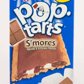 S'mores Pop-Tarts is listed (or ranked) 5 on the list The Very Best Pop-Tart Flavors