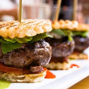 Beef Sliders is listed (or ranked) 16 on the list The Most Delicious Bar & Pub Foods, Ranked