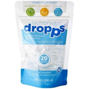 Dropps is listed (or ranked) 22 on the list The Best Detergent Brands