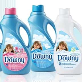 Downy is listed (or ranked) 10 on the list The Best Laundry Detergent Brands