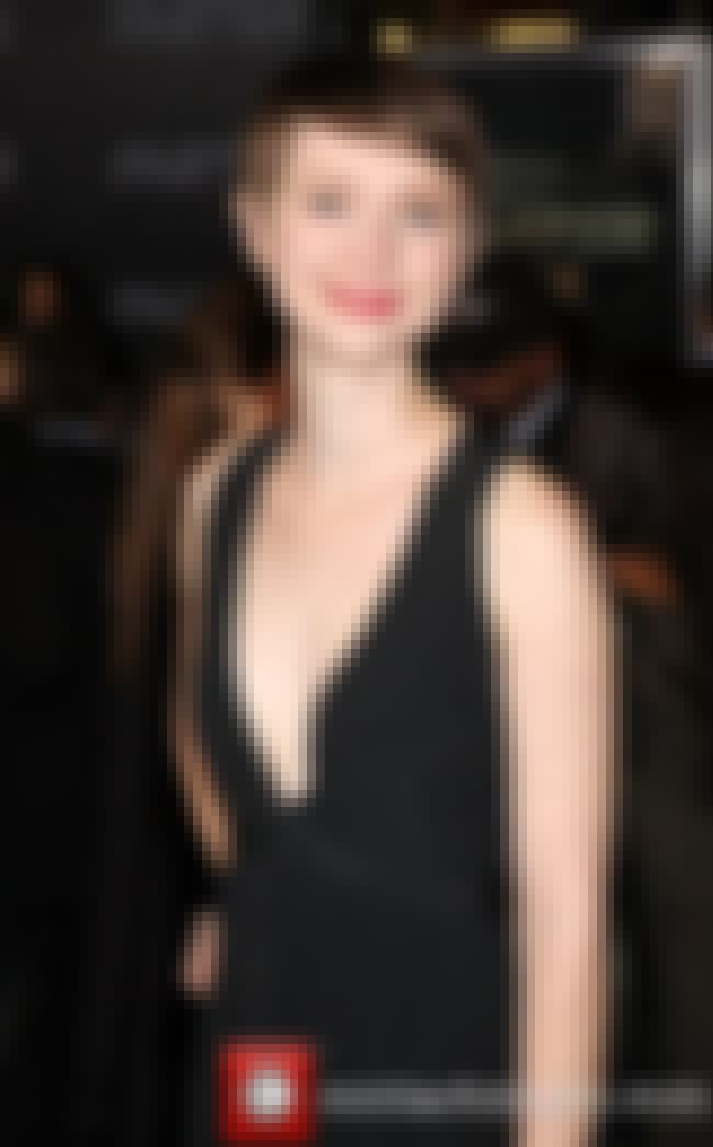 Valorie Curry in a Black Plung... is listed (or ranked) 3 on the list Hottest Valorie Curry Photos