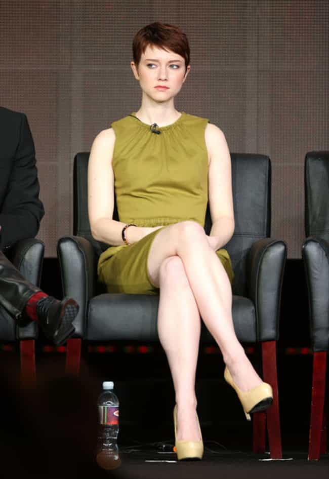 Valorie Curry in a Short Ruche... is listed (or ranked) 2 on the list The Most Stunning Valorie Curry Photos