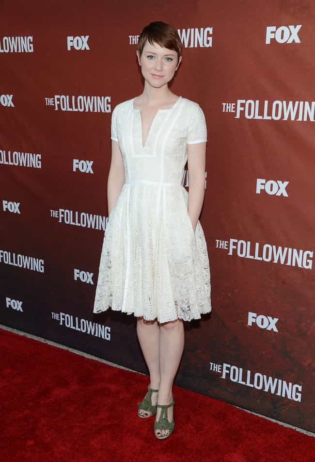 Valorie Curry in a White Ballo... is listed (or ranked) 4 on the list The Most Stunning Valorie Curry Photos