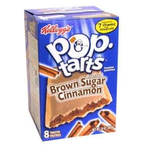 Brown Sugar Cinnamon Pop-Tarts is listed (or ranked) 1 on the list The Very Best Pop-Tart Flavors