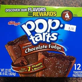 Chocolate Fudge Pop-Tarts is listed (or ranked) 7 on the list The Very Best Pop-Tart Flavors