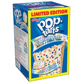 Confetti Cupcake Pop-Tarts is listed (or ranked) 12 on the list The Very Best Pop-Tart Flavors