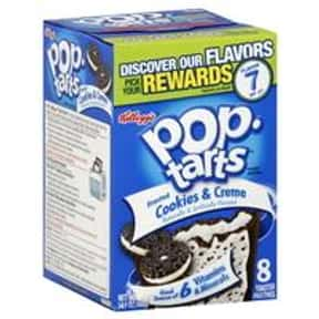 Cookies & Creme Pop-Tarts is listed (or ranked) 3 on the list The Very Best Pop-Tart Flavors