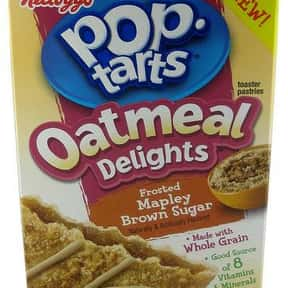 Mapley Brown Sugar Pop-Tarts is listed (or ranked) 25 on the list The Very Best Pop-Tart Flavors