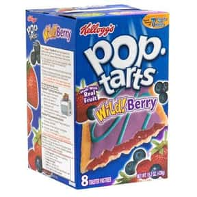 Wild Berry Pop-Tarts is listed (or ranked) 8 on the list The Very Best Pop-Tart Flavors