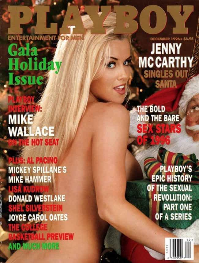 Jenny McCarthy Giving Santa Cl... is listed (or ranked) 1 on the list The Hottest Pictures of Jenny McCarthy When She Was Young