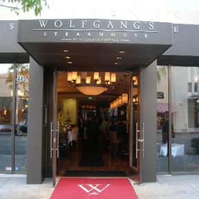 Wolfgang's is listed (or ranked) 8 on the list The Best Steakhouses in Los Angeles