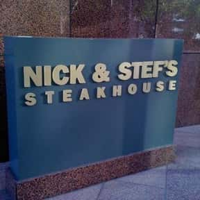 Nick & Stef's Steakhouse is listed (or ranked) 7 on the list The Best Steakhouses in Los Angeles