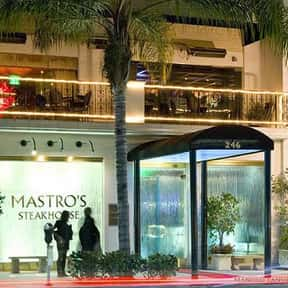 Mastro's is listed (or ranked) 1 on the list The Best Steakhouses in Los Angeles