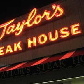 Taylor's is listed (or ranked) 4 on the list The Best Steakhouses in Los Angeles