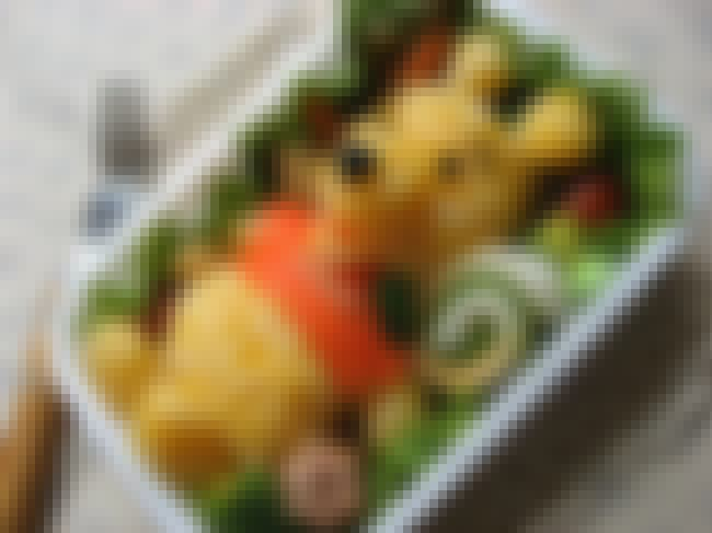 Winnie the Pooh is listed (or ranked) 3 on the list 31 Amazing Pieces of Bento Box Art (That You Can Eat!)