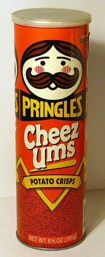 Pringles Cheez Ums on Random Best Pringles Flavors