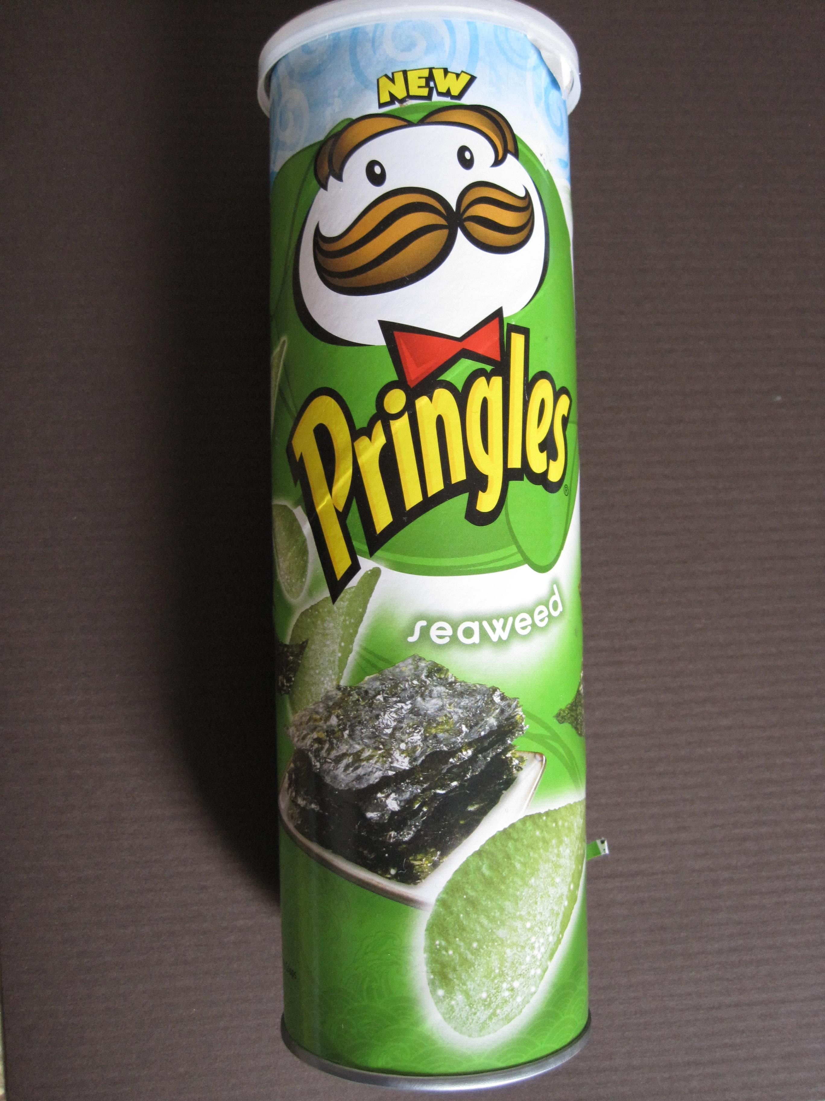 Pringles Seaweed on Random Best Pringles Flavors