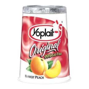 Yoplait Original Harvest Peach