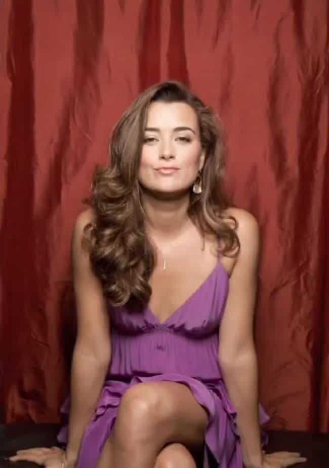 Cote De Pablo in a Purple Empi... is listed (or ranked) 3 on the list The 23 Most Stunning Cote De Pablo Photos