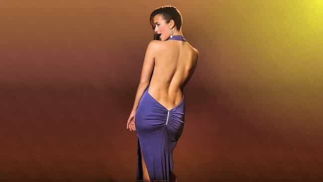 Cote De Pablo in Halter Backle... is listed (or ranked) 1 on the list The 23 Most Stunning Cote De Pablo Photos