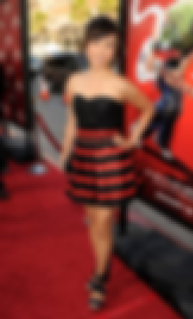 Ellen Wong in Strapless Stripe... is listed (or ranked) 2 on the list The Hottest Ellen Wong Photos