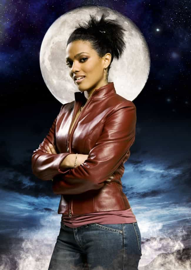 Freema Agyeman in a Leather Ja... is listed (or ranked) 3 on the list The Most Stunning Freema Agyeman Photos