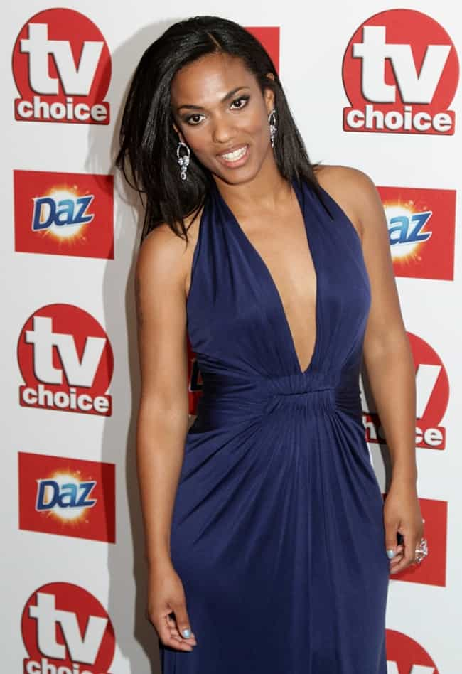 Freema Agyeman in a Deep Blue ... is listed (or ranked) 2 on the list The Most Stunning Freema Agyeman Photos