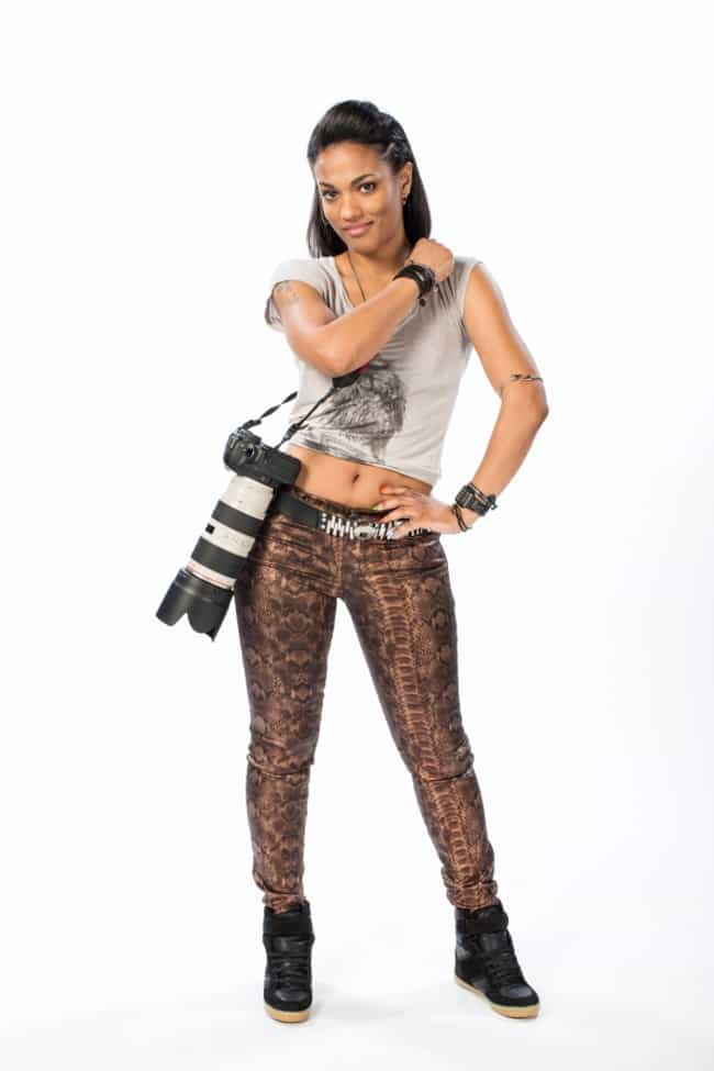 Freema Agyeman in a Crop T-shi... is listed (or ranked) 1 on the list The Most Stunning Freema Agyeman Photos