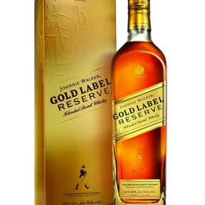 Johnnie Walker Gold Label Rese is listed (or ranked) 2 on the list The Best Johnnie Walker Labels