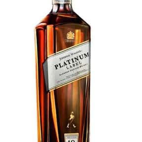 Johnnie Walker Platinum Label is listed (or ranked) 5 on the list The Best Johnnie Walker Labels