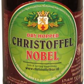 Christoffel Nobel is listed (or ranked) 11 on the list The Best Dutch Beers