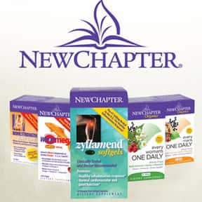 New Chapter is listed (or ranked) 17 on the list The Best Multivitamin Brands