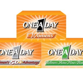 One-A-Day is listed (or ranked) 3 on the list The Best Multivitamin Brands