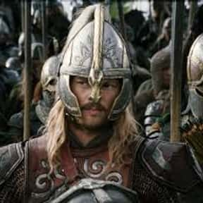 Eorl of Rohan is listed (or ranked) 14 on the list The Greatest Fictional Kings