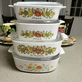 Corningware is listed (or ranked) 12 on the list The Best Cookware Brands