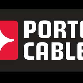 Porter Cable is listed (or ranked) 11 on the list The Best Power Tool Brands