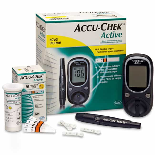 Accu Chek is listed (or ranked) 2 on the list The Best Glucometer Brands