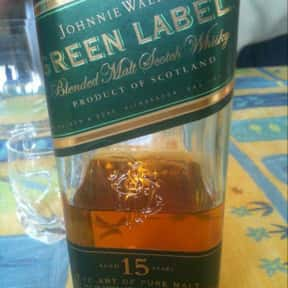 Johnnie Walker Green Label is listed (or ranked) 4 on the list The Best Johnnie Walker Labels