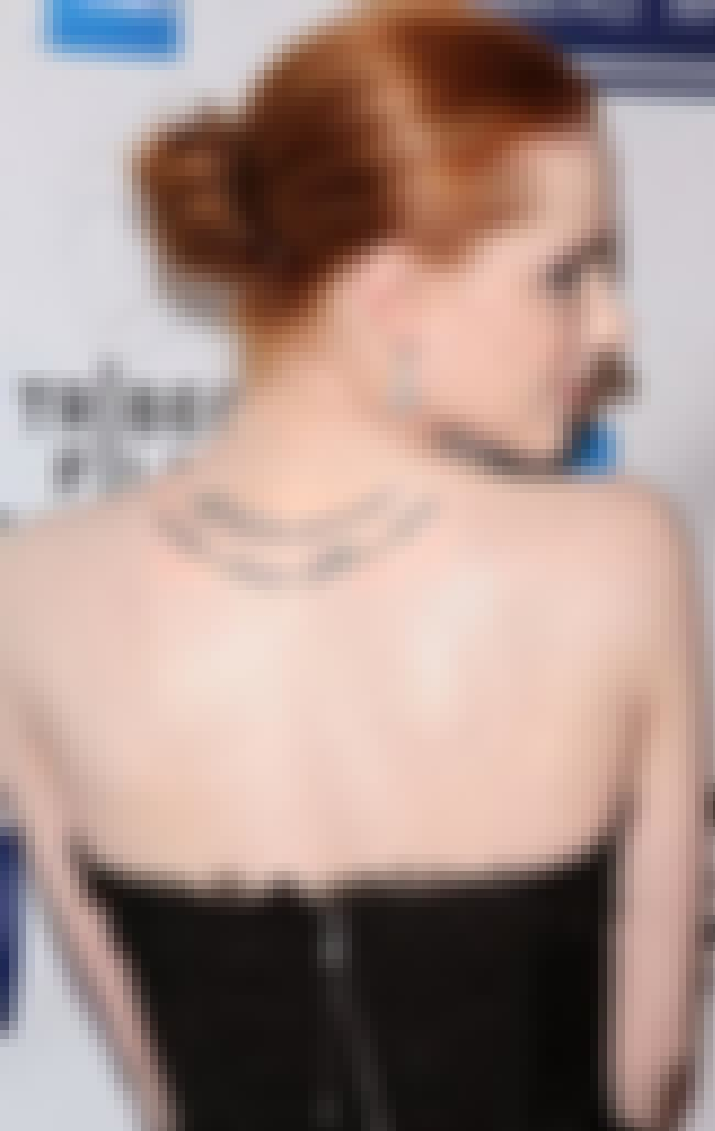 An Edgar Allen Poe Quote On He... is listed (or ranked) 1 on the list 8 of Evan Rachel Wood's Hottest Tattoos