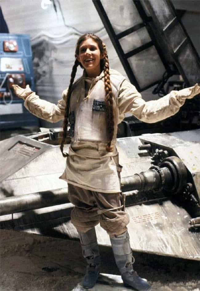 The 26 Sexiest Pics of a Young Carrie Fisher (Princess Leia)