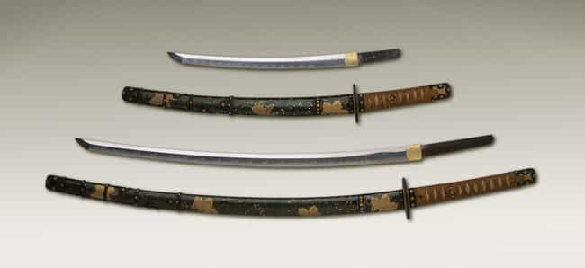 Katana is listed (or ranked) 1 on the list The Deadliest Martial Arts Weapons