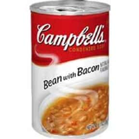 Campbell's Bean With Bacon is listed (or ranked) 4 on the list The Best Kinds of Campbell's Soups That Are Mmm, Mmm Good